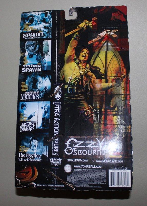 Ozzy Osborne Ultra Action Figure / McFarlane Toys 1999