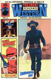 Great American Western #2 FN; AC | save on shipping - details inside