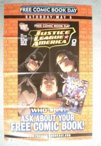 JUSTICE LEAGUE OF AMERICA Promo Poster, 22x34, Unused, more Promos in store