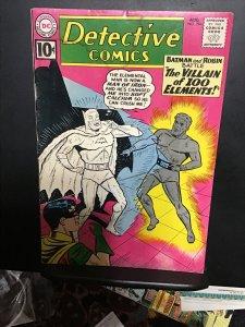 Detective Comics #294 (1961) Affordable grade 1st villain of 100 elements! VG