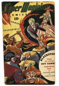 SUPER MAGICIAN V.3 #7 RED DRAGON WWII 1944-STREET & SMITH-BLACKSTONE