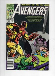 AVENGERS #326, VF+, Captain America, Thor, Iron Man, 1963 1990, Marvel