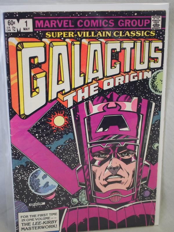 Galactus the Origin 1 VG/FN condition.  1988