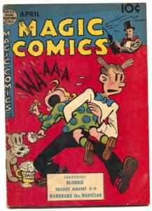 Magic Comics #117 1949-Blondie- Mandrake VG