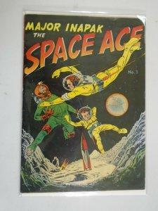 Major Inapak the Space Ace #1 5.0 VG FN (1951 Magazine Enterprises)