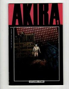 Lot Of 5 AKIRA Marvel Epic Comic Books # 1 2 3 4 5 Katsuhiro Otomo Fantasy SB5