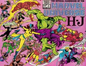 Official Handbook of the Marvel Universe (Vol. 1) #5 FN; Marvel   save on shippi
