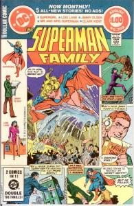 SUPERMAN FAMILY 209 VF-NM Aug. 1981 COMICS BOOK
