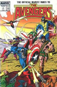 Official Marvel Index to the Avengers (1987 series) #2, NM- (Stock photo)