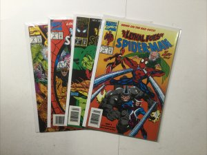 Lethal Foes Of Spider-Man 1-4 1 2 3 4 Newsstand Edition Lot Near Mint Marvel