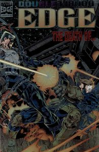 Double Edge: Omega #1 VF/NM; Marvel | save on shipping - details inside