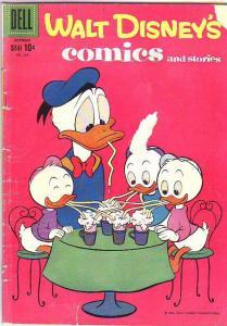 Comics and Stories, Walt Disney's #229 (Oct-59) GD/VG+ Affordable-Grade Donal...