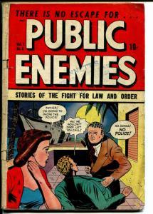 Public Enemies #6 1949-DS Pub-violent crime-murder-gambling-G