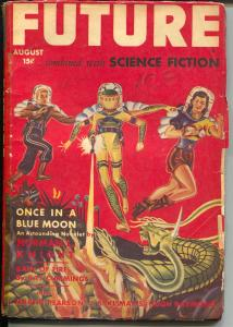 Future 8/1942-Columbia-Once In A Blue Moon-Norman L. Night-Blish-VG-