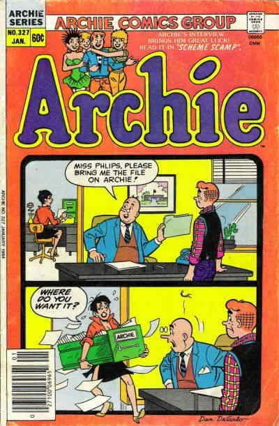 Archie #327 FN; Archie | save on shipping - details inside