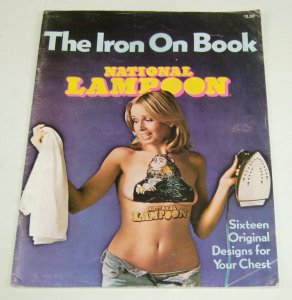 National Lampoon: the Iron On Book #1 sixtreen original designs 1976 rare