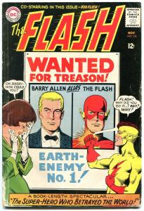 FLASH #156 1965-BARRY ALLEN COVER-DC COMICS-BABE RUTH G