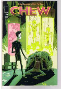 CHEW #19, 1st Print, NM, Rob Guillory, John Layman, Convention, Glows in Dark
