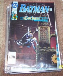 BATMAN #477 1992 DC COMICS  a gotham tale pt 1 + robin PAINTED COVER