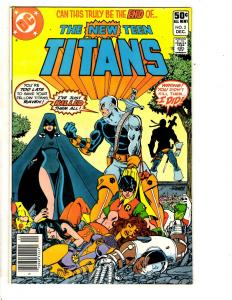 New Teen Titans # 2 VF/NM DC Comic Book 1st Deathstroke Appearance Robin RJ7