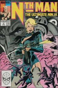 Marvel NTH MAN THE ULTIMATE NINJA #4 VF