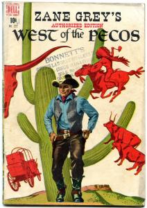 Four Color Comics #222 1949- Zane Grey's West of the Pecos VG