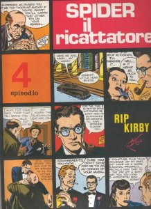 Rip Kirby de Alex Raymond numero 04: Spider il ricattatore