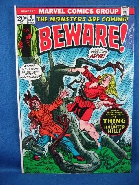 Beware #4 (Jul 1973, Marvel) VF+