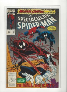Spectacular Spider-Man #201 Maximum Carnage 5 of 12 Venom Carnage Marvel Comics