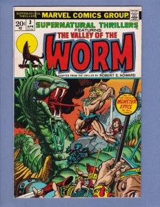 Supernatural Thrillers #3 FN Marvel 1973