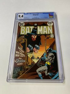 Batman 253 Cgc 9.4 White Pages Shadow Crossover Dc Comic