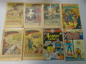 Silver + Bronze age Superman reader comic lot 37 different issues