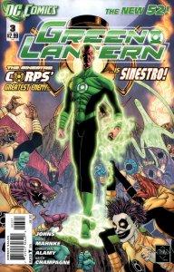 Green Lantern #3 (VF/NM) 2011 Variant Cover DC Comics ID#000