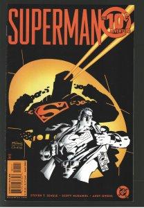 SUPERMAN 10 CENT ADV.#1 ON GO COLLECT 1st APP CIR-EL SUPERGIRL
