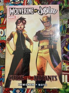 Wolverine and Jubilee: Curse of the Mutants #1 (2011) Hardcover