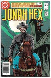 Jonah Hex #67 - Bronze Age - (VF) Dec., 1982