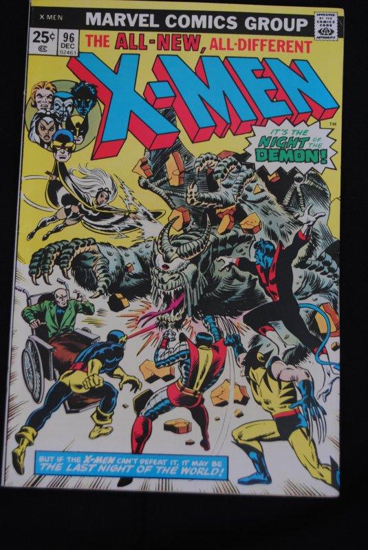 X-Men 96 High Grade!      Wolverine, New X-Men