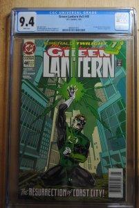 Green Lantern #48 (1994) CGC 9.4 First Kyle Rayner !!
