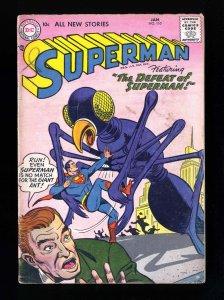 Superman #110 GD/VG 3.0 DC Comics