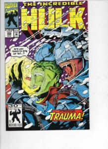 Incredible HULK #394, NM, Trauma, Bruce Banner, 1968 1992, more Marvel in store