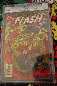 The Flash #198 CGC 9.4 Volume 2 Golden Age Flash Appearance 2003 White pgs