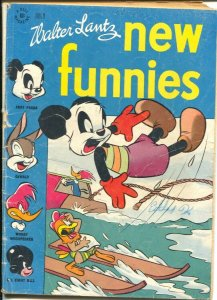 New Funnies #125 1947-Dell-ski boat cover-Li'l Eight Ball-African-American-G