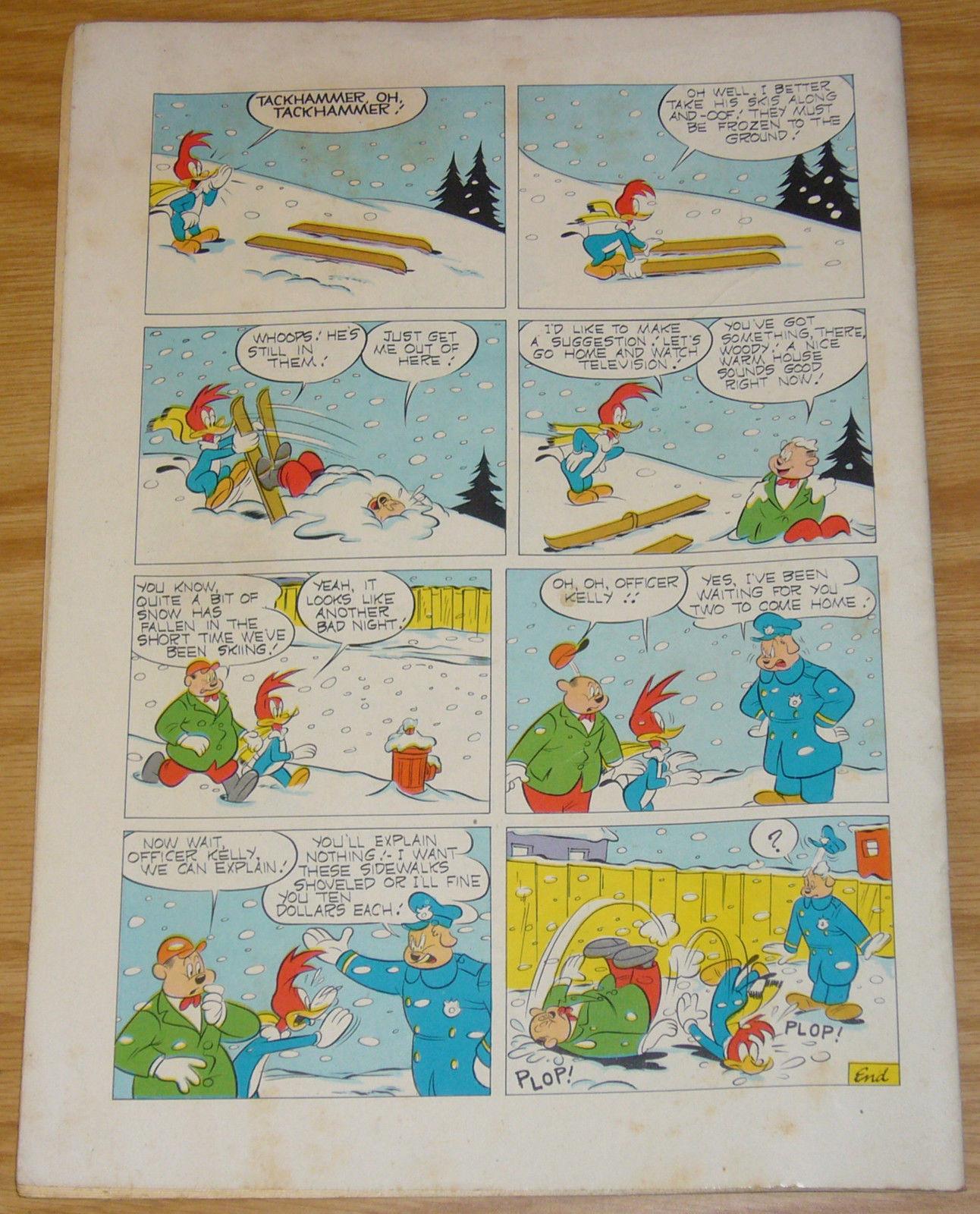 Walter Lantz Woody Woodpecker #16 FN+ december-january 1953