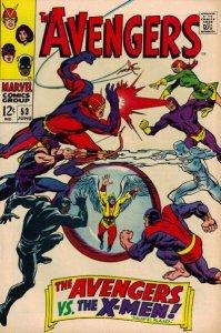 Avengers #53 (ungraded) stock photo / SMC