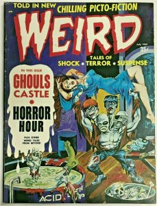 WEIRD#3 FINE- 1969 (VOLUME 3) EERIE PUBLICATION SILVER AGE COMICS