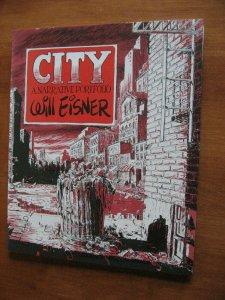 THE CITY PORTFOLIO SIGNED WILL EISNER 1980