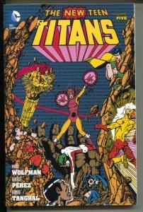New Teen Titans-Vol 5-Marv Wolfman-2015-PB-VG/FN