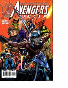 Lot Of 2 Marvel Comics Avengers Disassembled #503 and Avengers Finale PSR JB4