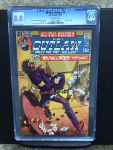 All Star Western 6 CGC 8.0 Off White Pages