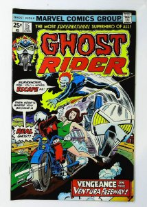 Ghost Rider (1973 series) #15, VF+ (Actual scan)